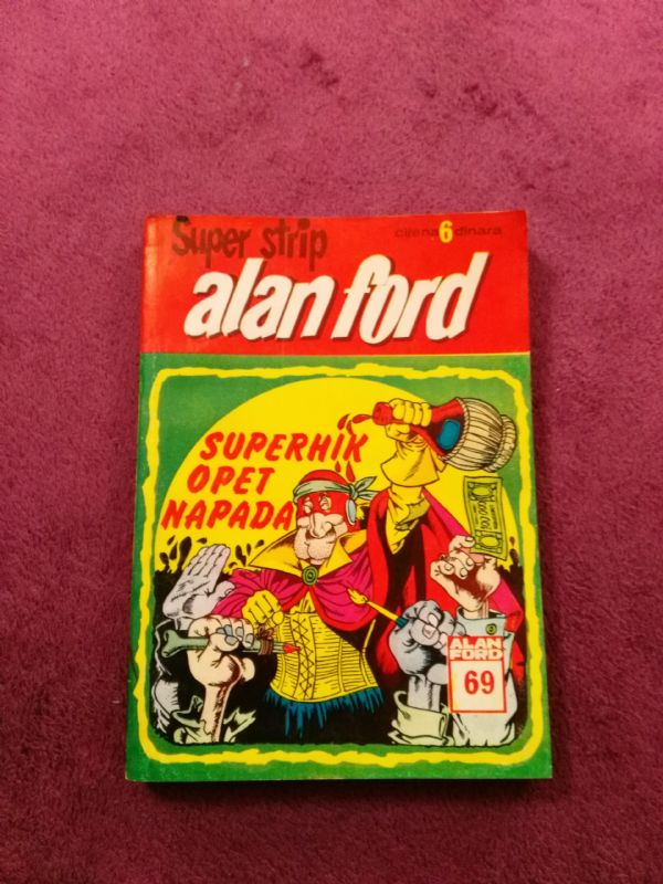 Alan Ford Superstrip br. 69 Superhik opet napada