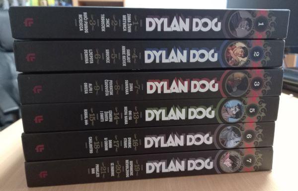 Dylan Dog Libellus lot 6 brojeva (knjige 1,2,3,5,6,7)