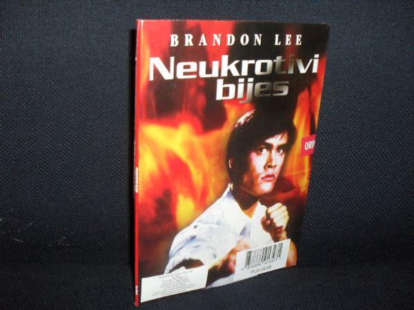 DVD NUKROTIVI BIJES, BRANDON LEE -  dvostruki, glanc