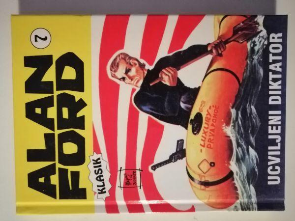 Alan Ford klasik 7 -  Ucviljeni diktator (Strip agent) TVRDE KORICE