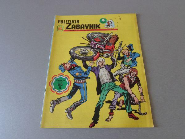 POLITIKIN ZABAVNIK Br 1192  1974 GOD.  ( 4+ )