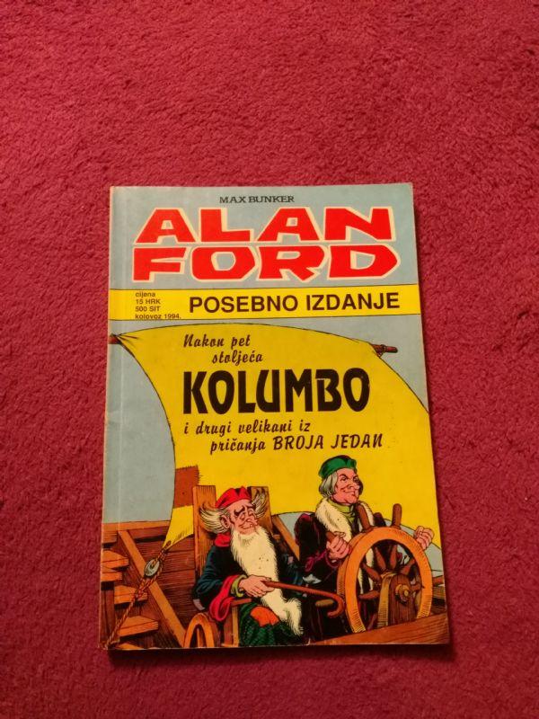 ALAN FORD SPECIAL - Borgis SP Veliki br. 5 - Nakon Pet Stoljeća - Kolumbo i Drugi Velikan