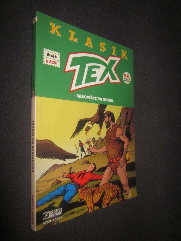 TEX KLASIK 8. Skrovište na Sierri