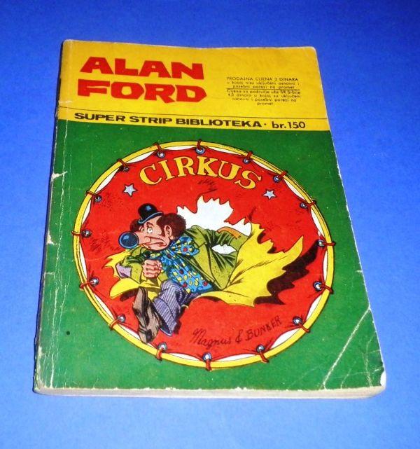 Alan Ford SSB 28: Cirkus