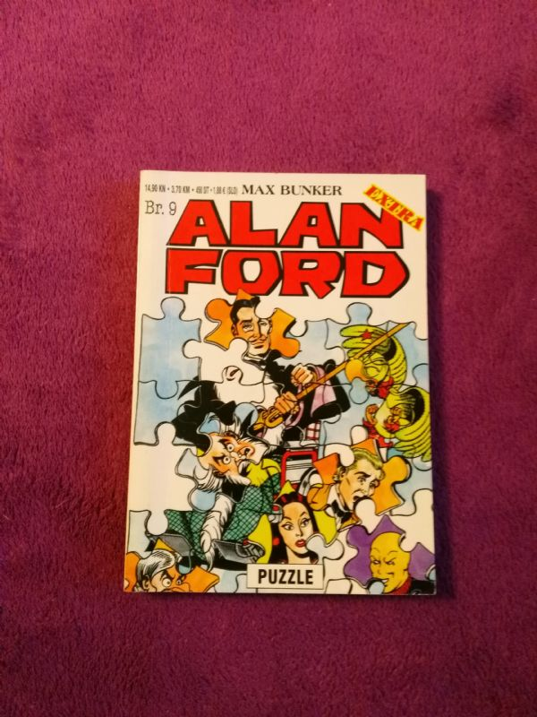 ALAN FORD Extra SA br. 9 - Puzzle