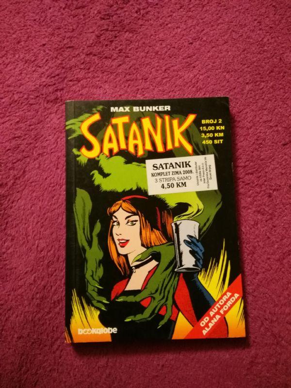 Satanik Bookglobe br. 2