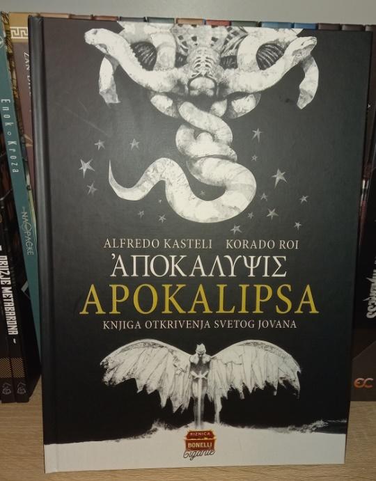Riznica Bonelli Gigante br.1 Apokalipsa Čarobna knjiga
