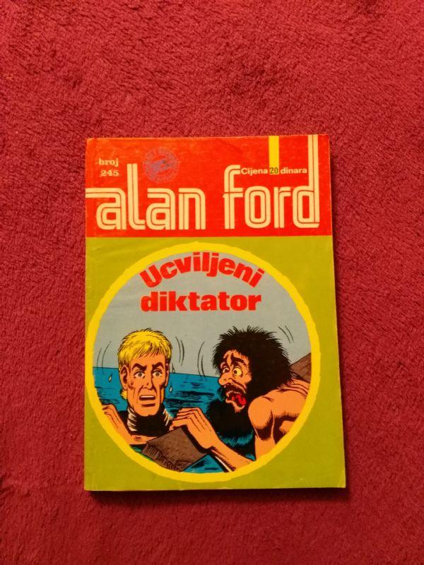 Alan Ford Superstrip br. 245 - Ucviljeni diktator