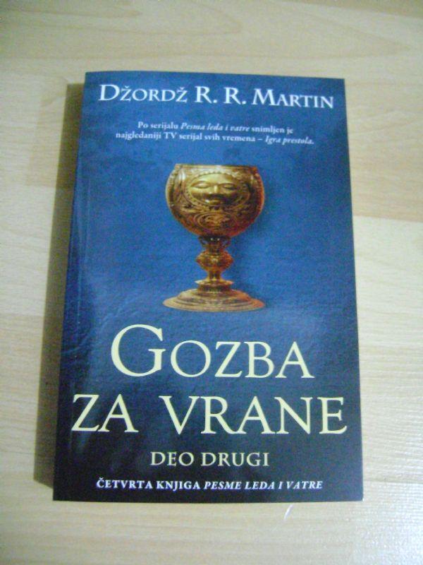 GOZBA ZA VRANE 2.DIO. - DŽORDŽ R.R. MARTIN - LAGUNA