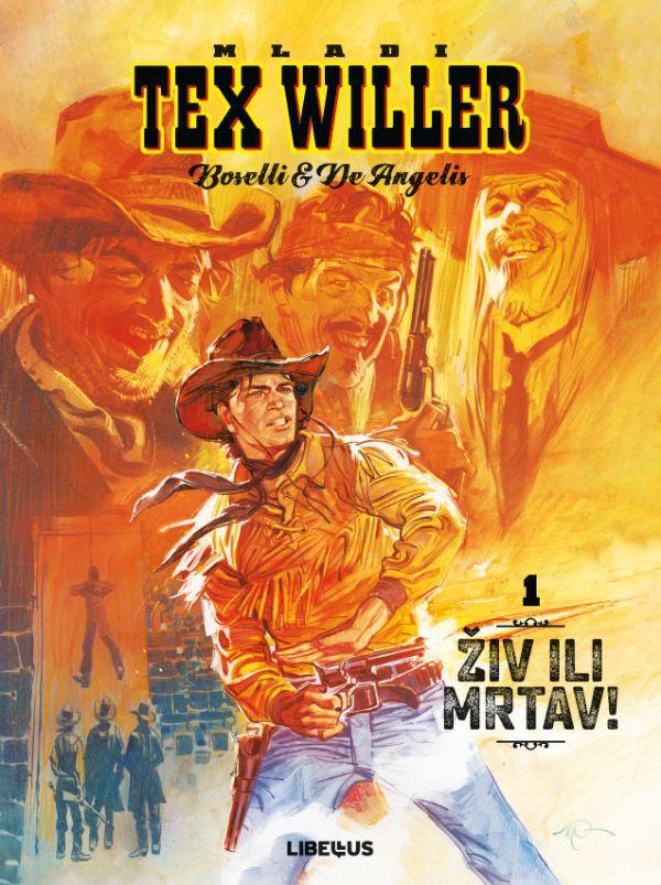 LIBELLUS - Mladi Tex Willer, 1. knjiga
