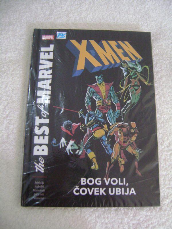 X-MEN - BOG VOLI, ČOVEK UBIJA - ČAROBNA KNJIGA