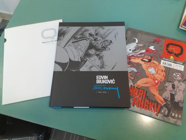 Monografija Edvin Biuković + dva poklona!