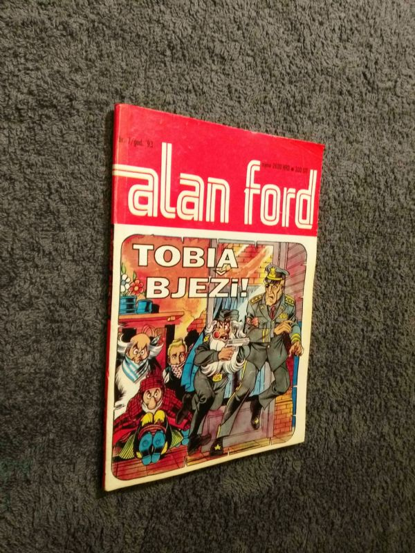 ALAN FORD Borgis br. 07 - Tobia bježi! (5-)