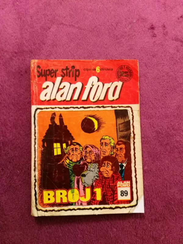 ALAN FORD Superstrip br. 89 - Broj 1