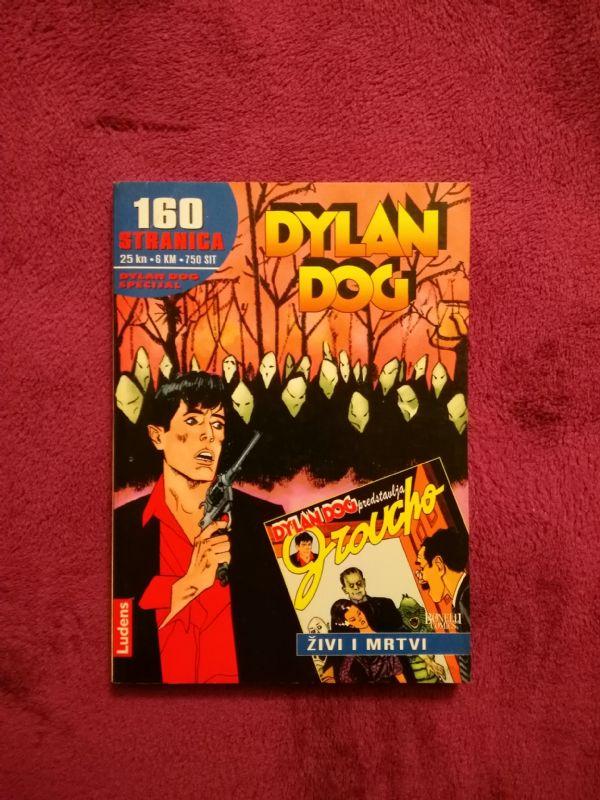Dylan Dog Ludens Specijal br.6 - Živi i mrtvi (5-)