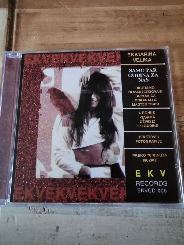 EKV - Samo par godina za nas CD