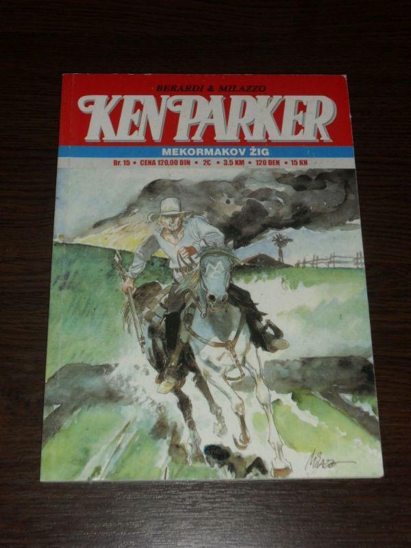 Ken Parker SC br. 15 Mekormakov žig (-5/5)