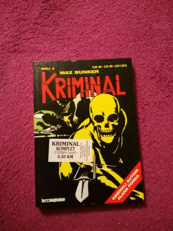 Kriminal Bookglobe br. 6