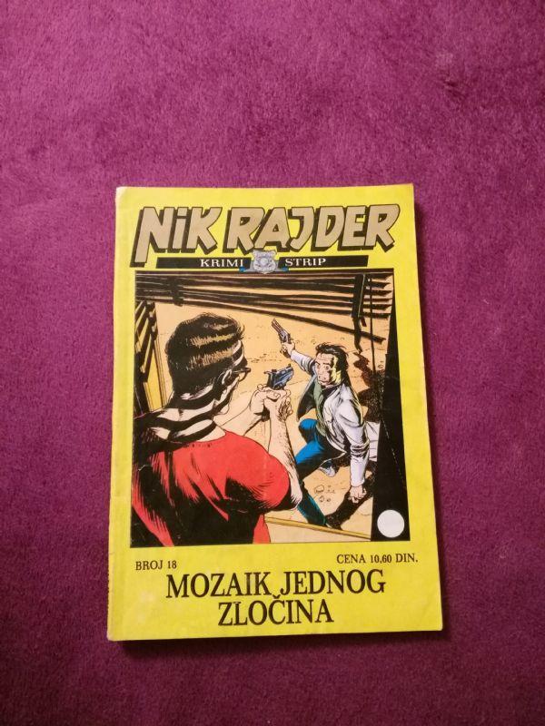 Nick Raider ZS br. 18 Mozaik jednog zločina
