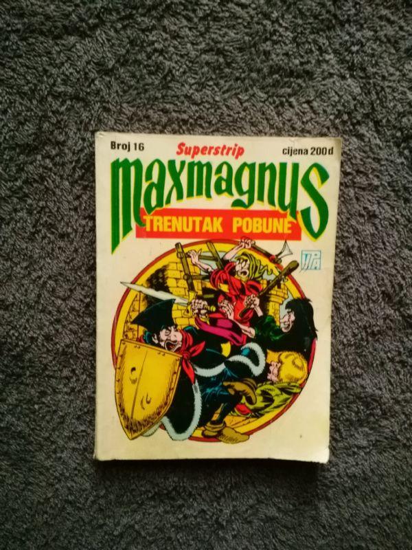 Maxmagnus Superstrip br 16-TRENUTAK POBUNE (4+)