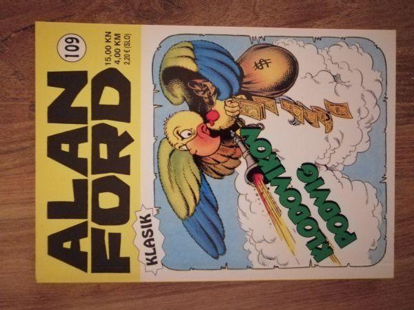 Alan Ford klasik 109 - Klodovikov podvig (Strip agent)