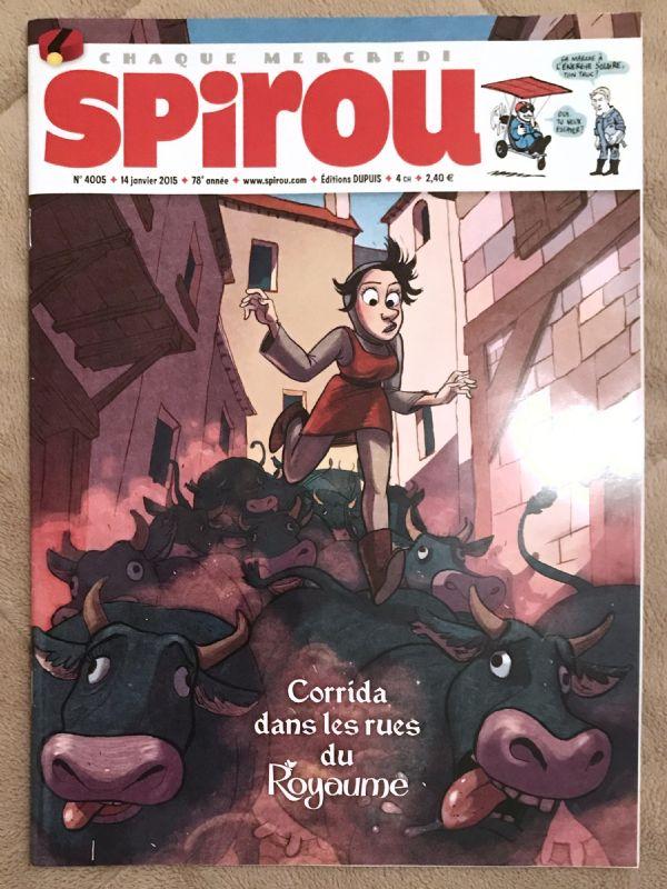 SPIROU br. 4005 (DUPUIS)