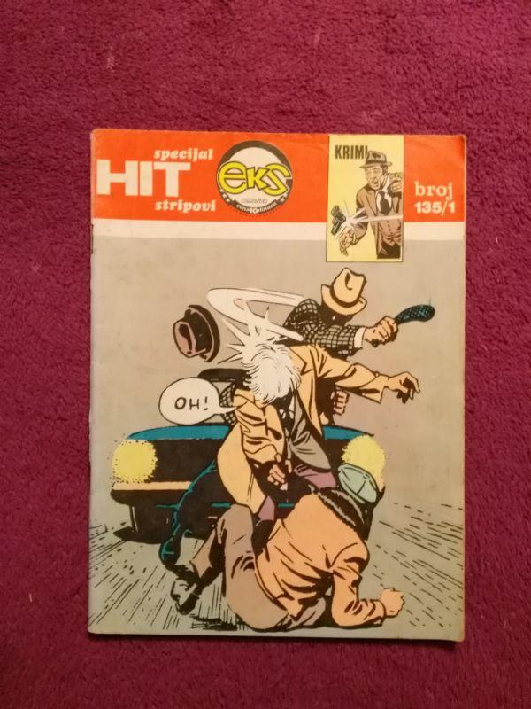 HIT specijal stripovi, EKS ALMANAH br. 135/1