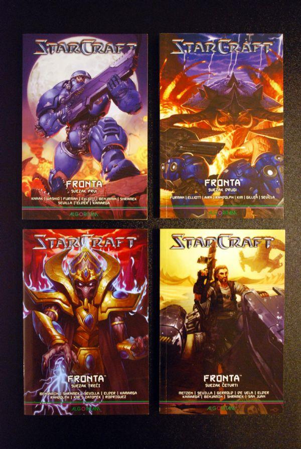 Starcraft: Fronta, komplet 1-4