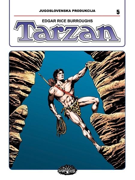 YU TARZAN br. 5 (Strip album HC )