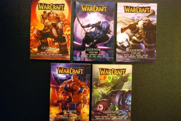 Warcraft: Legende, komplet 1-5