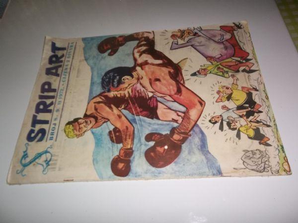 STRIP ART BROJ 9  prvo izdanje iz 1972 godine, veliki format