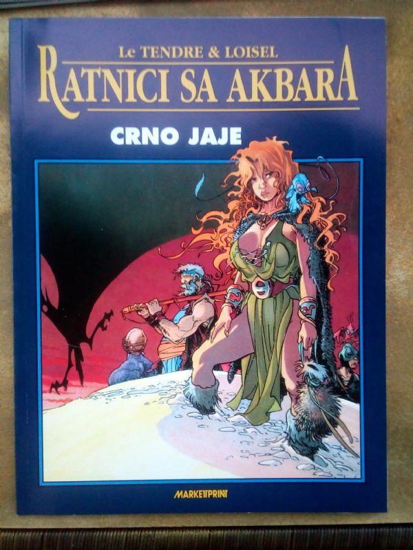 RATNICI SA AKBARA, album br. 4,  Marketprint
