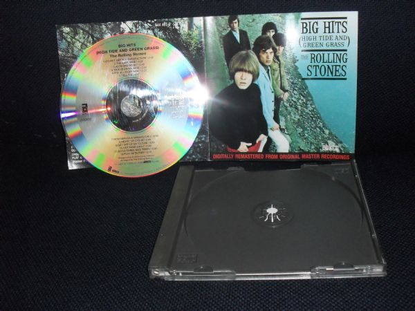 CD THE ROLLING STONES  -  BIG HITS (high tide and green grass)