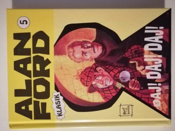 Alan Ford klasik 5 -  Daj! Daj! Daj! (Strip agent) TVRDE KORICE