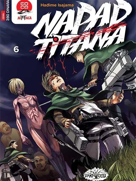 NAPAD TITANA (Manga) br. 6