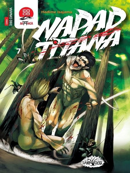 NAPAD TITANA (Manga) br. 7