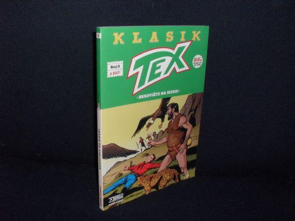 TEX KLASIK br. 8 u boji, skrovište na sierri (glanc)