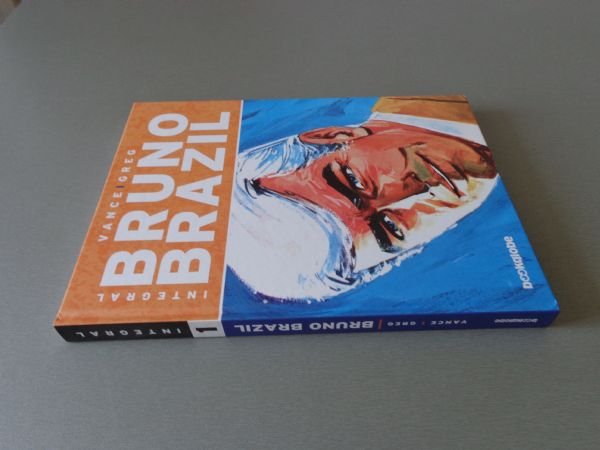 VANCE GREG  BRUNO BRAZIL Br 1  HC BOOKGLOBE  ( 5 )