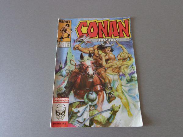 CONAN BARBAR Br 1  SD  ( 4+ )
