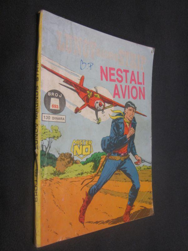 LMS 693. Mister No - Nestali Avion