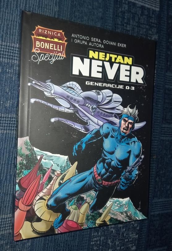Nejtan Never Generacije 0-3 Čarobna knjiga