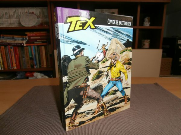 Libellus - Tex Willer 62 - Čovjek iz Baltimorea (rasprodano)