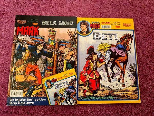 Mark Veseli četvrtak br. 5 - Bela skvo + dodatni strip Beti