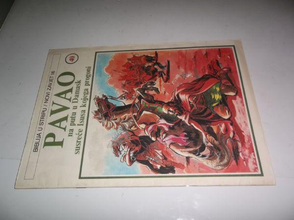 BIBLIJA U STRIPU BROJ 40 strip u boji veliki format