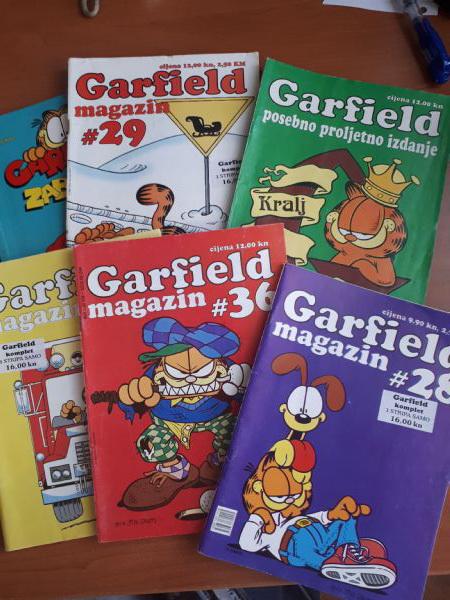Garfield - 6 komada