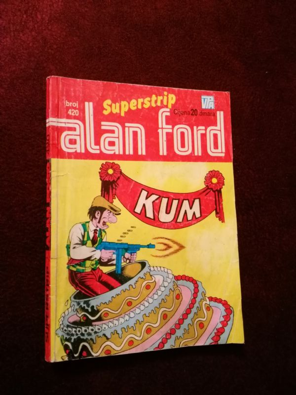 ALAN FORD SUPERSTRIP BR. 420 - Kum