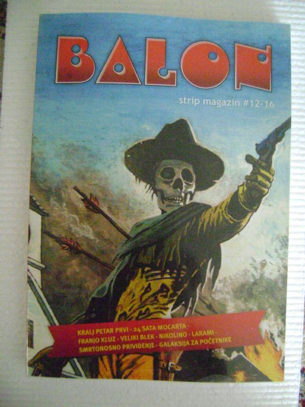 BALON - STRIP MAGAZIN - 12-16