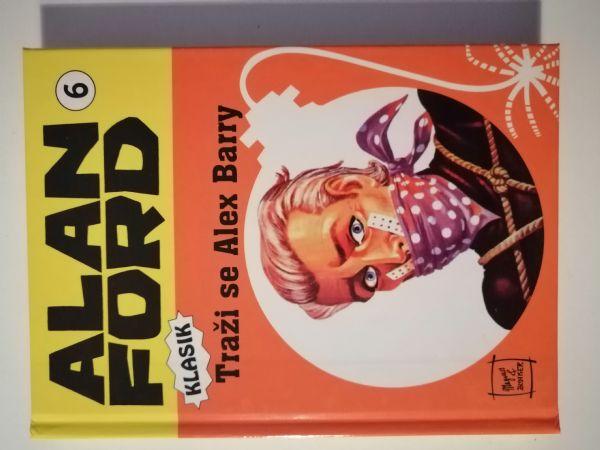 Alan Ford klasik 6 -  Traži se Alex Barry (Strip agent) TVRDE KORICE