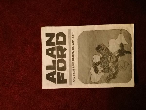 Alan Ford Prilog Večernjeg lista - Kad srce radi bi-bim, ba-bam I.dio