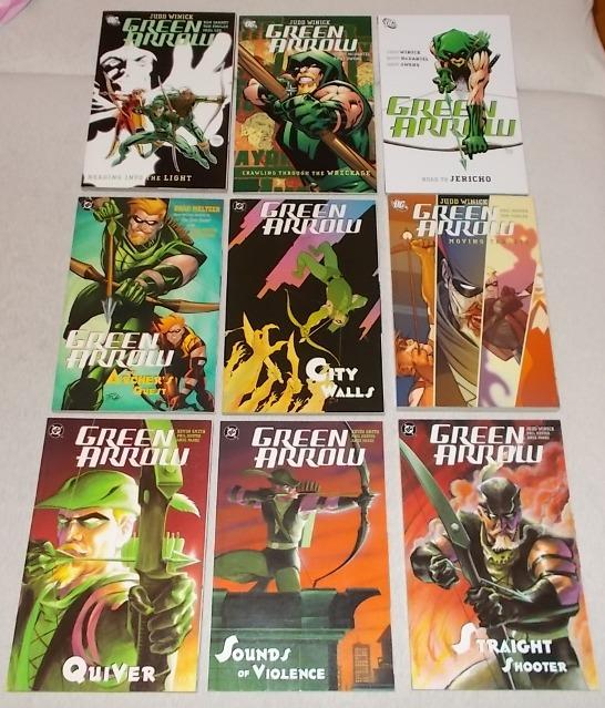 Green Arrow 1-9 komplet